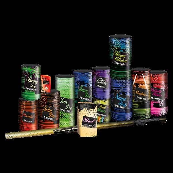 Een Meter Vuurwerk - pakketten