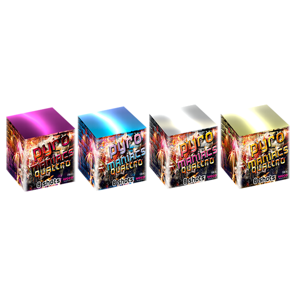 Pyromaniacs Quattro -