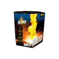 Golden Sky Twister - evolution-fireworks